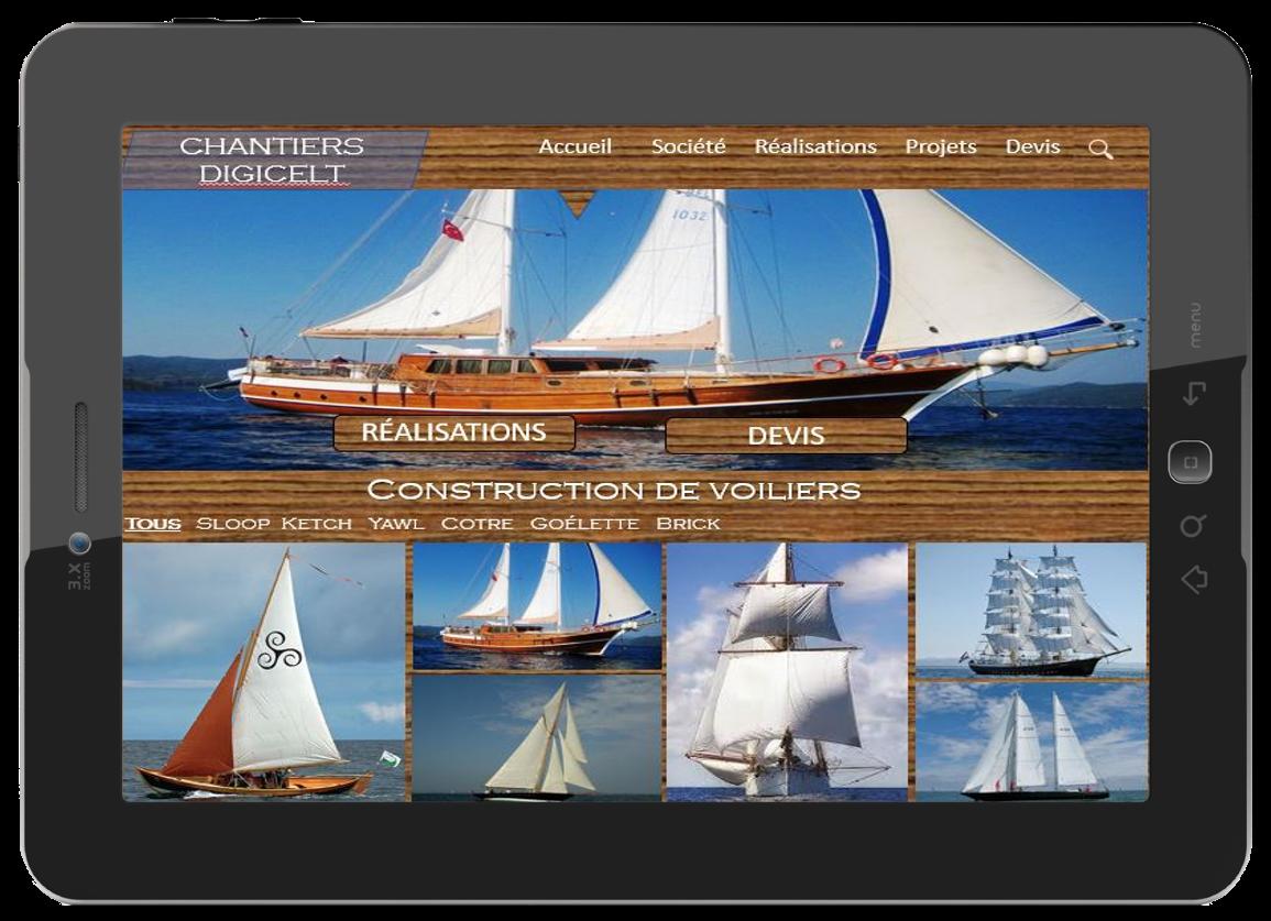 Digicelt - création de sites vitrine - créateur de sites Internet Essonne - chef de projet multimédia Essonne